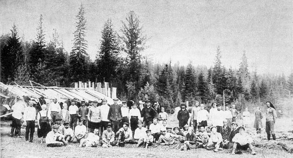 Ингерманландцы в ссылке, 1932 год.
